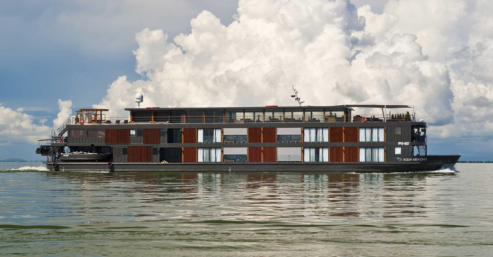 Reserveer een zeer luxueuze Mekong Cruise met de Qgua Mekong bij Renaissance Reizen.